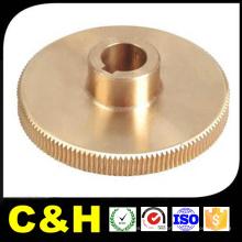 CNC Latão Polido girado peças para dispositivos médicos
