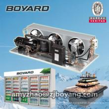 unidad de condensador de cámara fría con unidades de condensación de compresor de refrigeración R404a