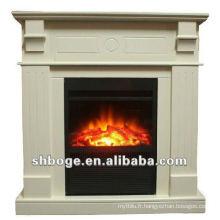 Foyer à feux décoratifs décoratifs intérieurs portables / insérés (avec manteau)