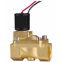 hot sale brass Magnetic pulse solenoid valve 24v dc