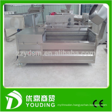 save labor brush roller type ginger /yams /potatoes washer with good price