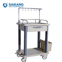 Chariot de traitement médical d'urgence d'ABS SKR020-ITT