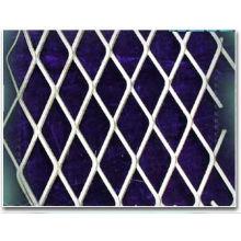 Diamond, Hexagonal Carbon Electro Galvanized Expanded Metal Mesh Oem