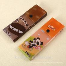 Горячий продукт прозрачная Коробка PVC Упаковывая для еды с кнопки