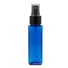 High Quality Cheap Price Transparent Green Blue Amber Colored Square Plastic PET Pump Spray Bottle For Skin Care Cosmetic 50Ml