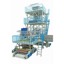 ABCThree Co-Extrusion voll automatisch mit IBC und TAKE UP PE Folie Blown Machinery EXTRUDER