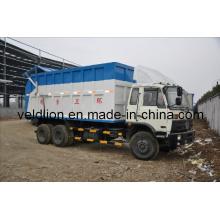 Dongfeng 4 * 2 Camión de basura para transporte de residuos