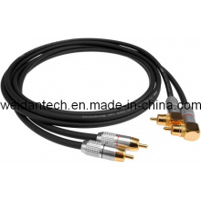 Premium 15 FT 2RCA Stereo Audio Link Cable for DVD