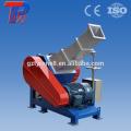 Triturador de tubos de plástico tipo pvc pipe máquina de triturador de plástico máquina de corte de plástico