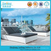 Novo produto Móveis de piscina Outdoor Rattan Daybed