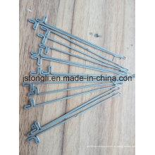 1.5g agujas planas de la máquina que hace punto