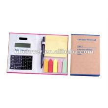 recycle calculator notebook