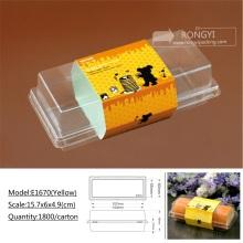 BOPS plastic environmental cupcake sushi packing box