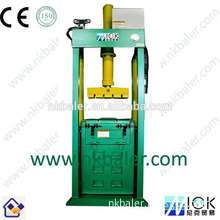 high work efficiency cotton used clothes baling small baler machine