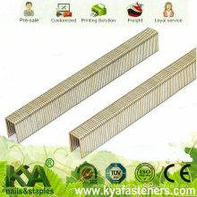 Galvanizado M Series Staples para Telhados, Construção, Embalagem