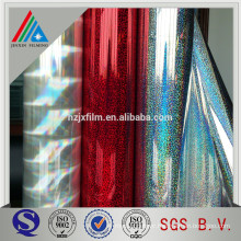 Customized Decoration Lamination MPET Holographic Film