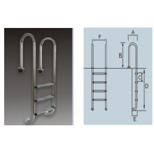Mc Series Stainless Steel Pool Ladder (MC-215, MC-315, MC-415, MC-515)