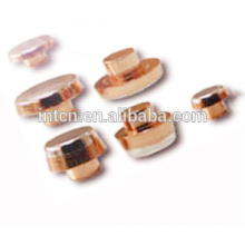 Many kinds of contact rivets for switchs