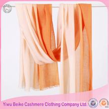 Le châle d'écharpe de pashmina en gros léger léger de femmes