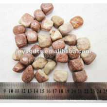 Wave stone tumbled stone,high polish