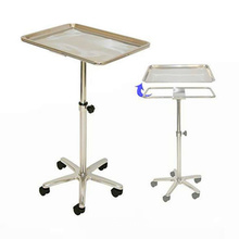 Durable Instrument Stand Adjustable Height Sitting Standing For Medical Equipment