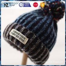 Nouveau produit original tricot chapeau / chapeau expédition rapide à prix abordable