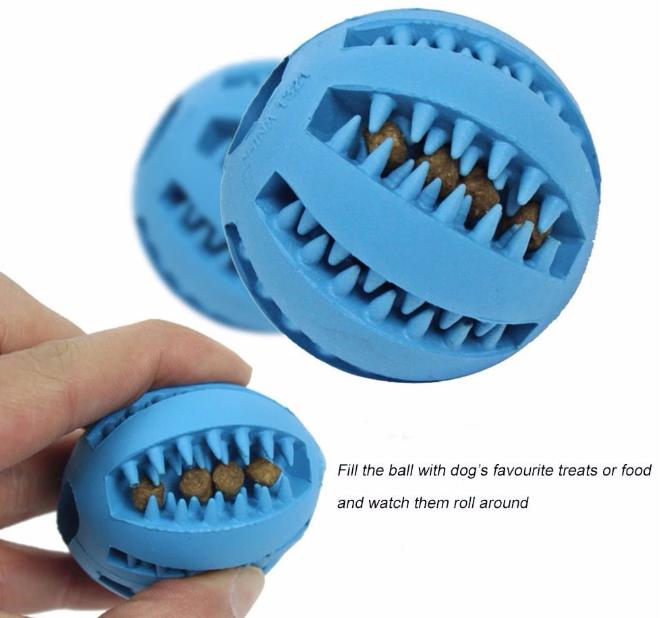 Dog Ball Teeth Toys