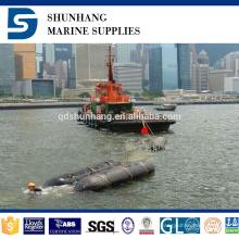 bolsa a ar marinha de borracha inflável do salvamento da construção industrial