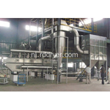 High Drying Efficiency Vibrerende Fluid Bed Drying Machine