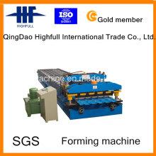Двухслойная профилегибочная машина для производства высококачественной стальной плитки