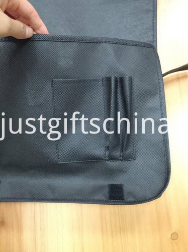 Promotional Non Woven Messenger Bags W Velcro Closure