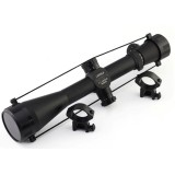 New Military Standard Hunting Scope, Tactical 3.5-10X40 Illuminated Riflescope, 3.5-10X40e Mil-DOT Airsoft Rifle Scope for Shooting