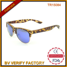 Demi jante Tr90 Sun verres bleu lentille Tr15084