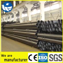 Société soudée de fabrication de tuyaux / tuyaux en acier au carbone noir