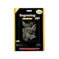 Gold schmetterling schwarz Maske Gravur Kunst Kit Versorgung für Amazom.com