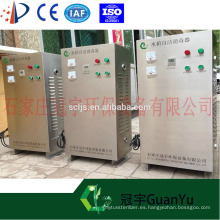 Filtro de auto-limpieza generador de ozono portátil