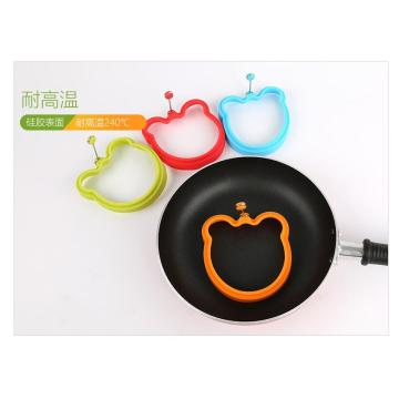 Non-stick Heat-resistance Silicone Egg Former Bear Ring