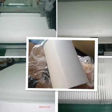 Papier filtre en fibre de verre pour la filtration de l'huile