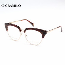 China Wholesale neues Modell benutzerdefinierte Acetat Eyewear Rahmen optische Gläser für Herren