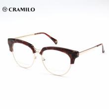 chine en gros nouveau modèle personnalisé acétate lunettes cadre optique lunettes pour hommes