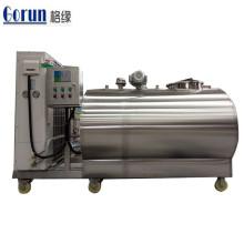 Réservoir de refroidissement du lait en acier inoxydable de haute qualité
