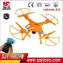 4CH RC Quadcopter FPV WiFi Transmisión en tiempo real cámara HD Quad helicóptero vs SYMA X8W 2.4G FPV RC Drone SJY-H809W