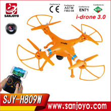 4CH RC Quadcopter FPV WiFi Real Time Transmission HD camera Quad copter vs SYMA X8W 2.4G FPV RC Drone SJY-H809W