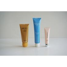 Пластиковая трубка мягкой гибкой трубки для косметической упаковки (AM14120214)