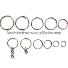 Fashion High Quality Metal Split Ring For Keychain