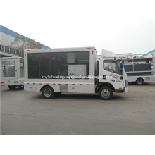 Pantalla led publicidad coche móvil led cartelera camión