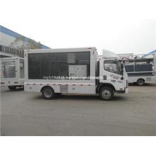 Caminhão conduzido móvel conduzido do quadro de avisos do carro da propaganda da exposição