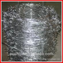 Verzinkter PVC Stacheldraht