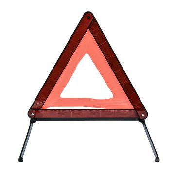 Triângulo de advertência reflexivo dos jogos da emergência da segurança da estrada
