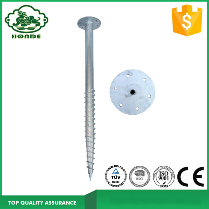 Round Flange Ground Screw